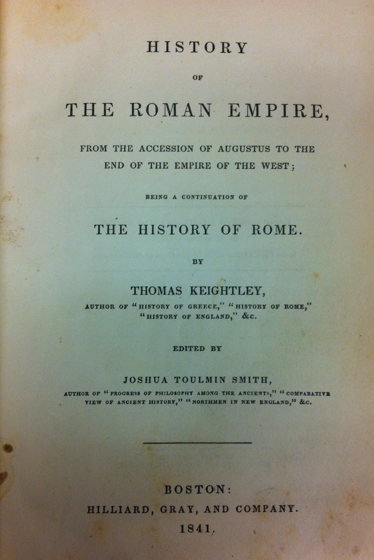 Keightley Title Page