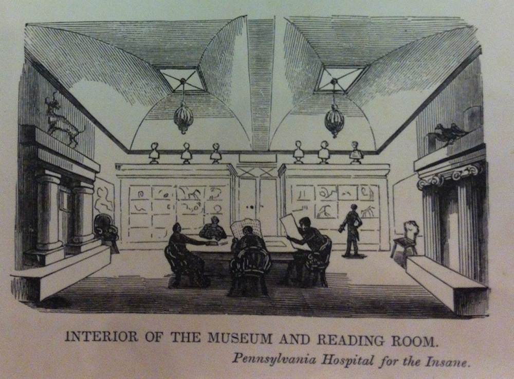 Reading Room and Museum at the Pennsylvania Hospital