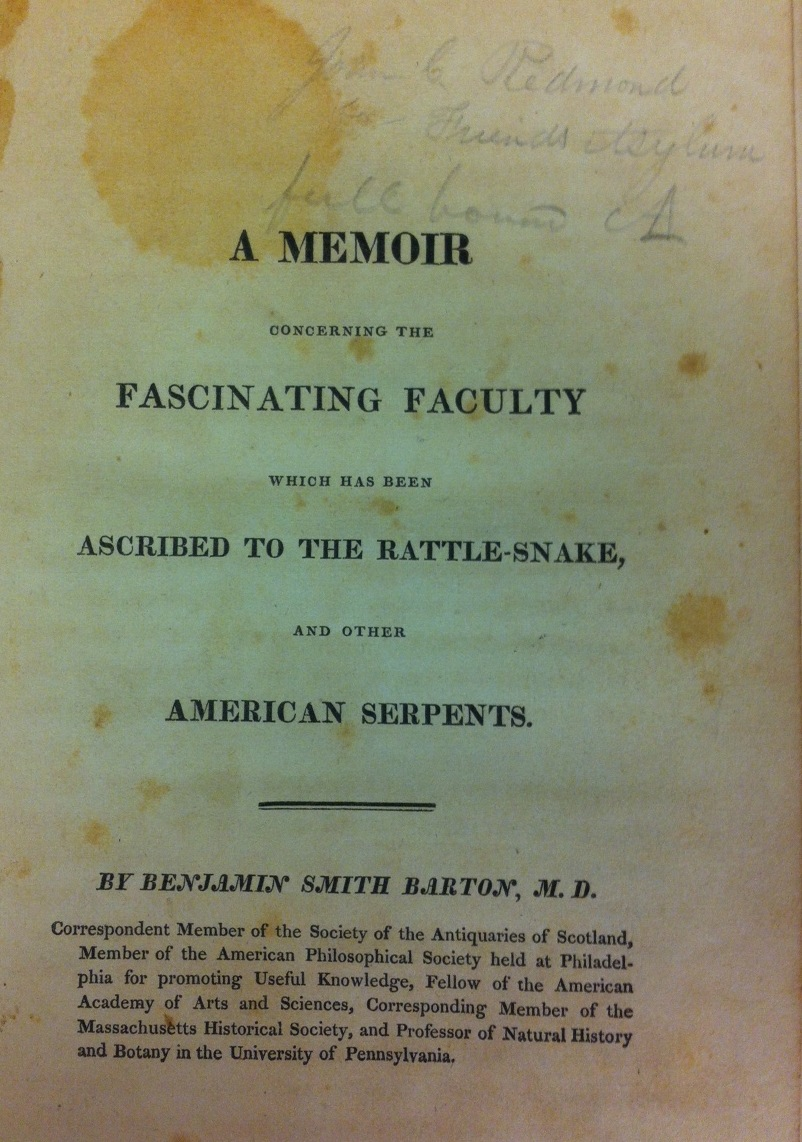 Smith Barton Title Page