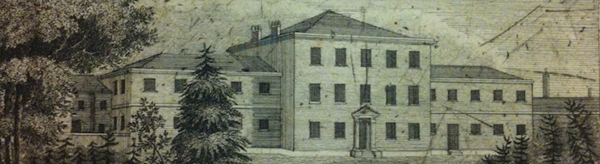etching of York Retreat